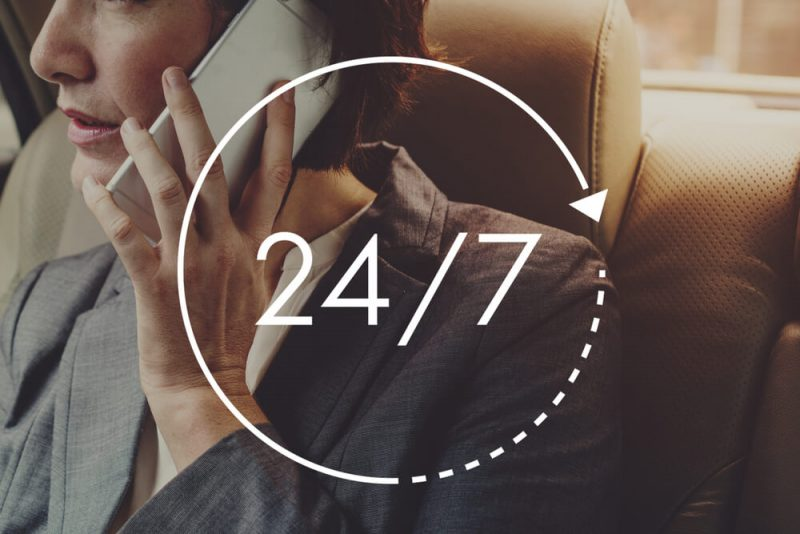 24/7 service available