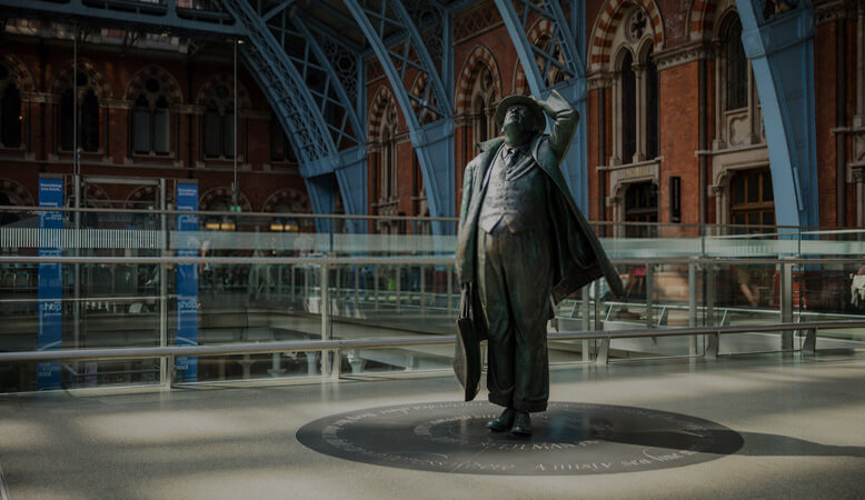 Overview Of the St Pancras International Station